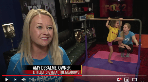 Amy Desalme, Owner Littlebits Gym
