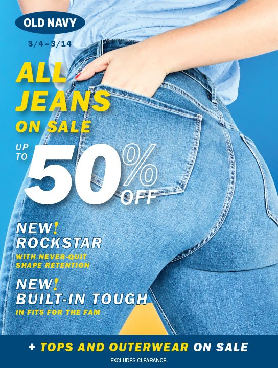 Old Navy Jeans Sale The Meadows At Lake St Louis