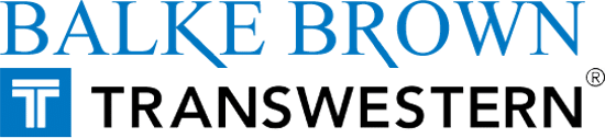 Balke Brown Transwestern logo.