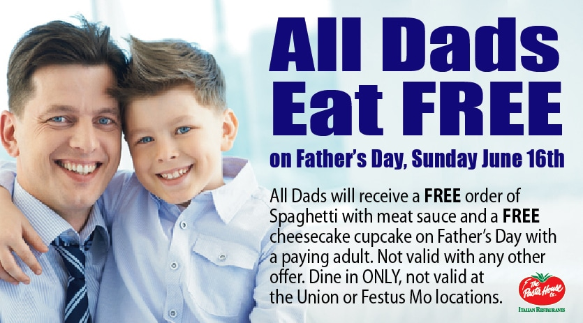 All Dads Eat FREE
